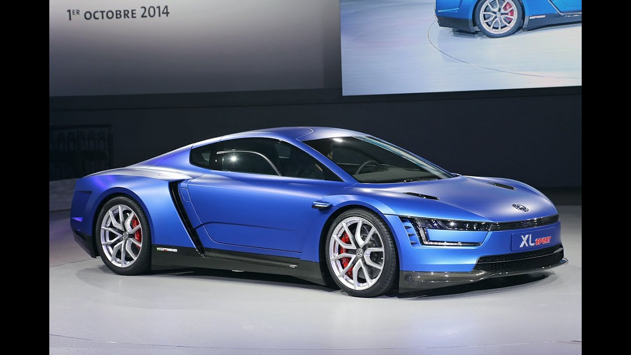 Citaten Sport Xl : Vw xl sport weltpremiere in paris youtube