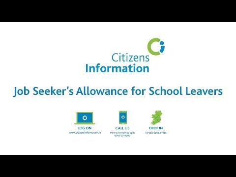 Job Seeker's Allowance for School Leavers
