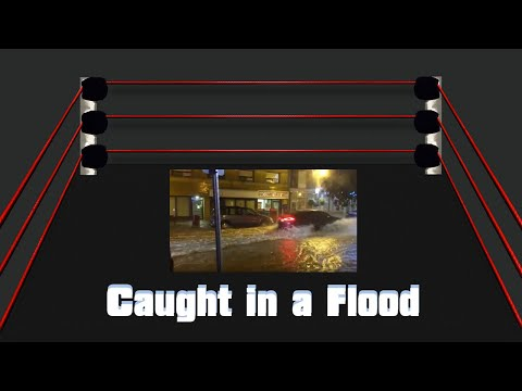 Caught in a Flood in Downtown Oshawa