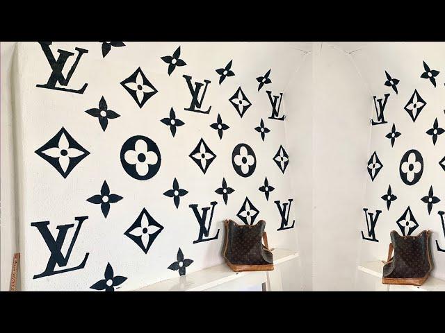 Free Simple Brown Louis Vuitton Logo Vector 2