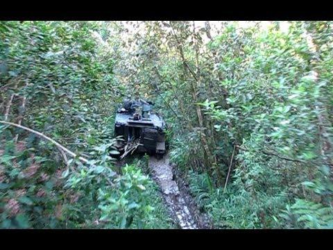 M113 APC na floresta - Exército Brasileiro