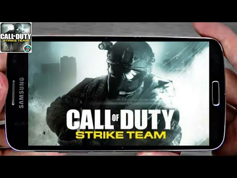 call of duty strike team apk + obb free download