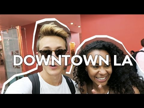 A DAY IN DOWNTOWN LA