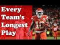 أغنية Every Team S Longest Play NFL 2016 17