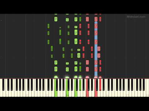 Lmfao - Party Rock Anthem (Instrumental Tutorial) [Synthesia]
