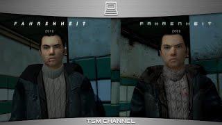 Fahrenheit Indigo Prophecy Remastered Vs. Original (2005-2015 comparison)