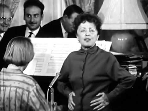 Edith Piaf répète MILORD blvd Lannes, chanson, 1959 (interview) HD