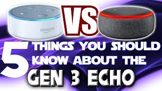5 Things You Should Know About The 3rd Generation Amazon Echo Dot: Review And Setup Guide