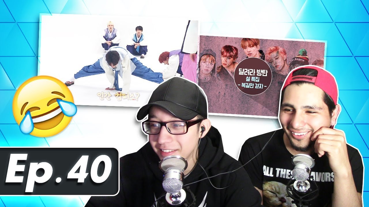 GUYS REACT TO BTS 'Run BTS' Ep  40