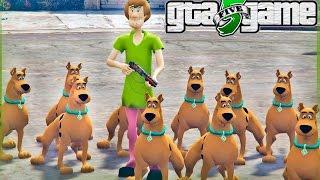 GTA 5 Mods - Scooby Doo Atacando a GROVE STREET! (GTA V Mods Gameplay)