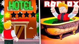 I WENT TO THE WORST HOTEL IN ROBLOX! * 1 Star *