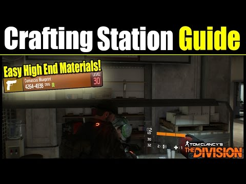 The Division: How to Get Easy High End Weapon Parts, Tools, & Fabric Materials!