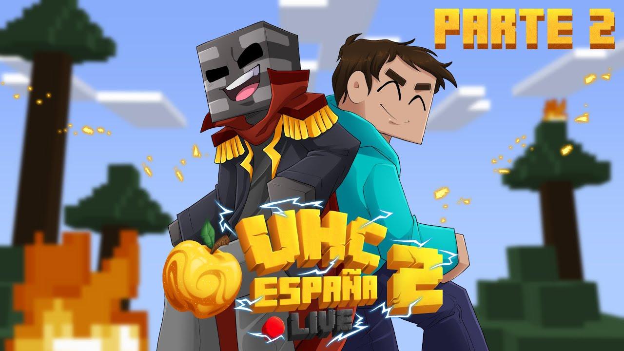 UHC España LIVE 2 Parte 2, Full Diamond Speedrun