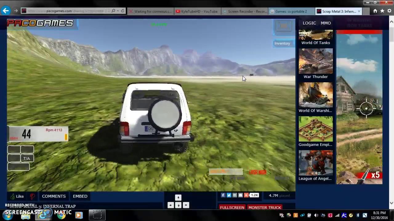 Scrap Metal 3 2016!!!! Online Car game [PacoGames] - YouTube