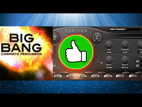 [DEMO][VST][Rompler/Drum-machine] SONiVOX - Big Bang Cinematic Percussion