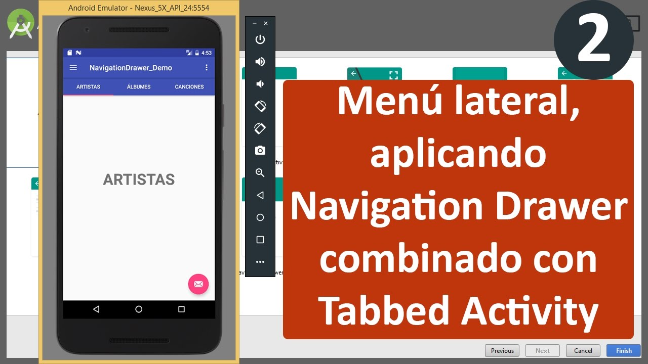 Navigation Drawer Exle Android