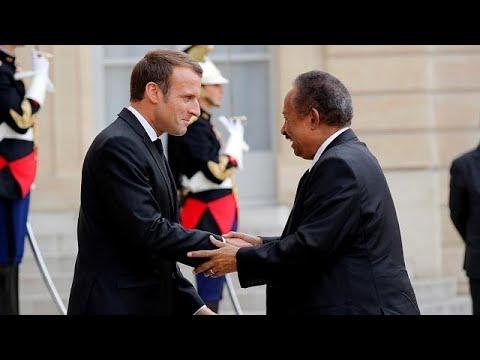 Macron Urges U.S To Remove Sudan From State-sponsored Terrorism List