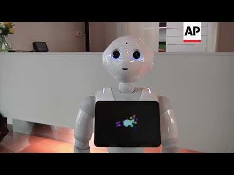 Italy's first robotic concierge and car salesman