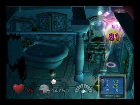 Luigi S Mansion 2nd Floor Bathroom Boss Ghost Miss Petunia