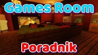 Minecraft poradnik - Games Room cz. 1. Jak zrobić ruletkę w MC