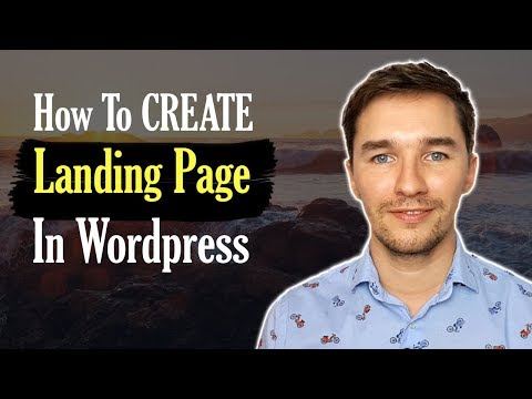 How to Create a Landing Page In WordPress EASY with Thrive Architect [Tutorial]