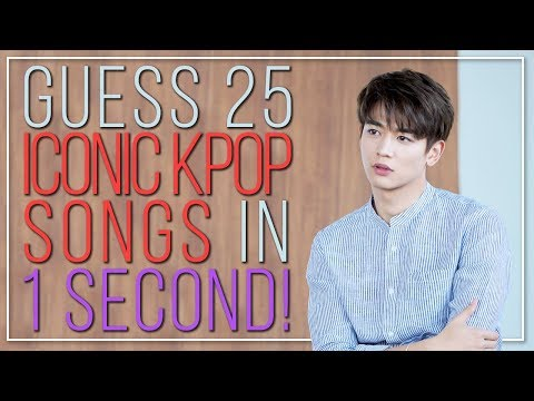 GUESS THE ICONIC KPOP SONG IN 1 SECOND | KPOP Challenge | Part 2