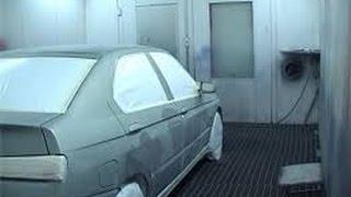 видео покрасочная камера для автомобилей