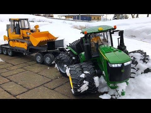 TRAKTOR John DEERE Puls Cat Construction Vehicles!! RC Modellbau