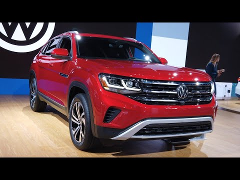 2020 Volkswagen Atlas Cross Sport SEL V6 - Exterior And Interior