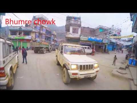 GoPro Hero4 : Ride To The Parbat District   Pokhara To Parbat Tribeni   3hrs 85kms   Pulsar 220