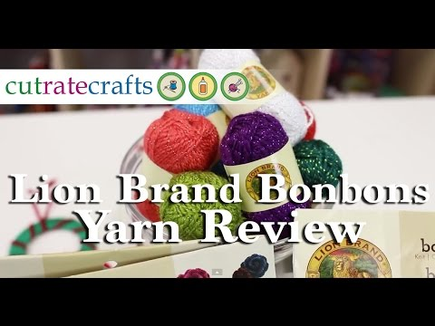 Lion Brand Bonbons Yarn Review