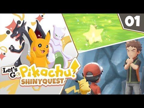 A SHINY START! Pokémon Let's Go Pikachu Shiny Quest Let's Play! Episode 1