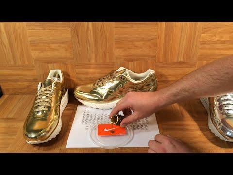 Silver Metal And 1s Shoezeum Air Liquid Max Nike Gold I1t8t5xwqT