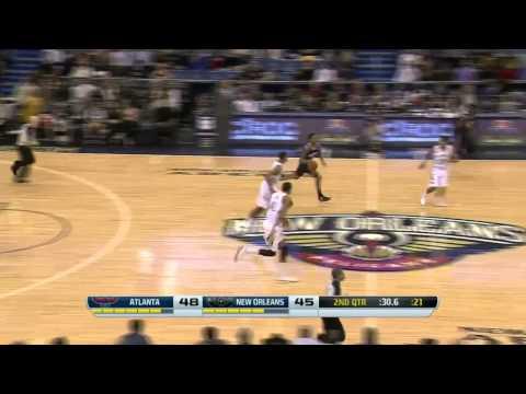 Atlanta Hawks vs New Orleans Pelicans | February 5, 2014 | NBA 2013-14 Season