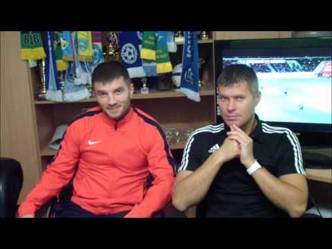 Intervjuu treeneritega (Roman Kozukhovskyi ja Igor Shashkov) Johvi FC Lokomotiv