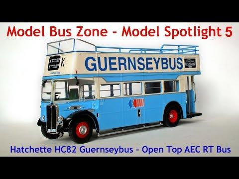 Hatchette Guernsey Bus Open Top AEC RT Bus