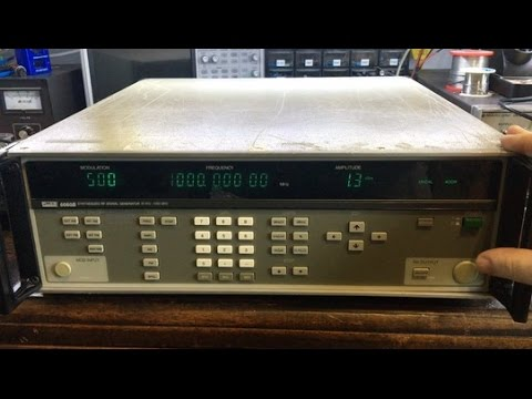 #81 Fluke 6060B RF Signal Generator Repair Part 1