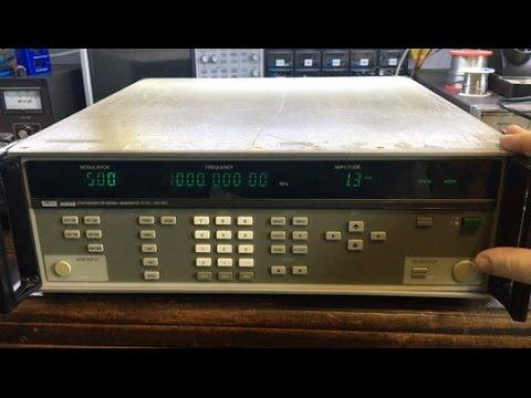 Fluke 6060B RF Signal Generator Repair Part 1