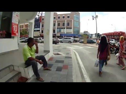 Walking in Kota Bharu, Malaysia