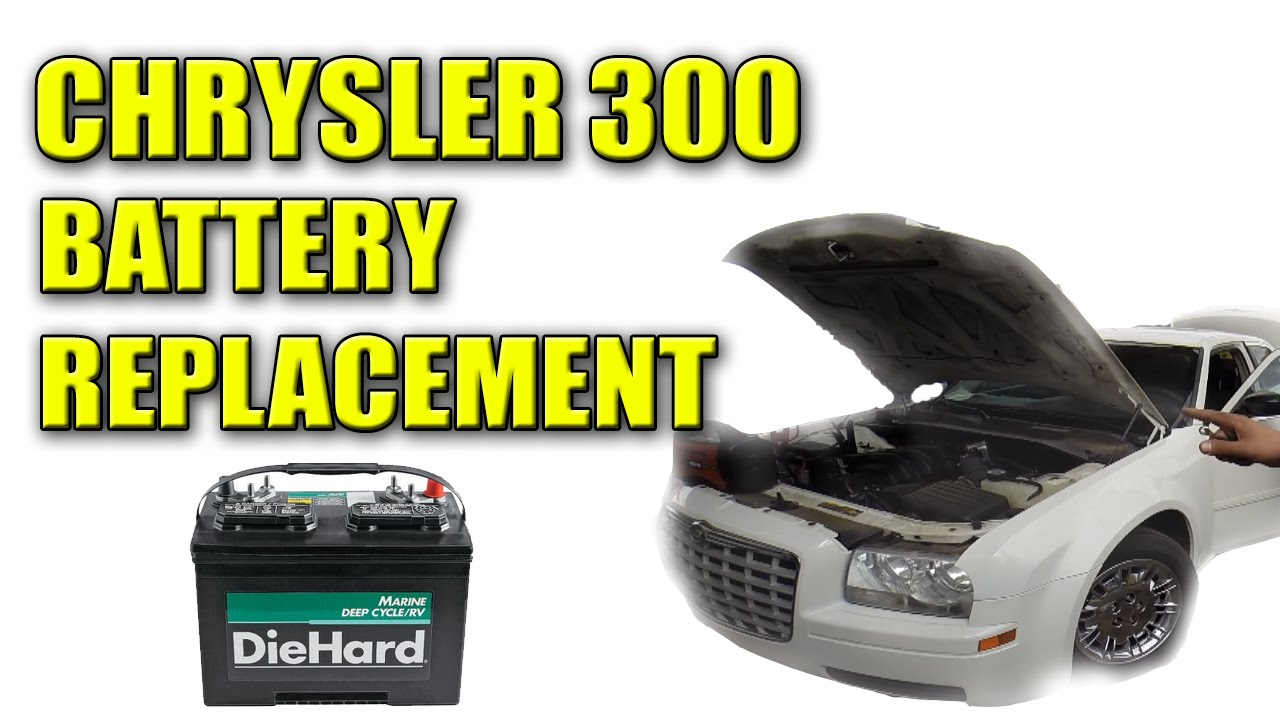 2006 Chrysler 300 Dead Battery Replacement