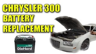 2006 Chrysler 300 Dead Battery Replacement
