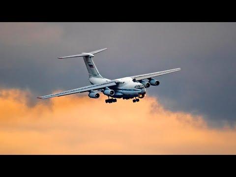 Фантастический заход Ил-76