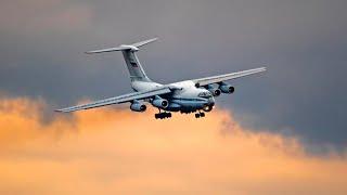 Фантастический заход Ил-76 во Внуково / Захват Глиссады
