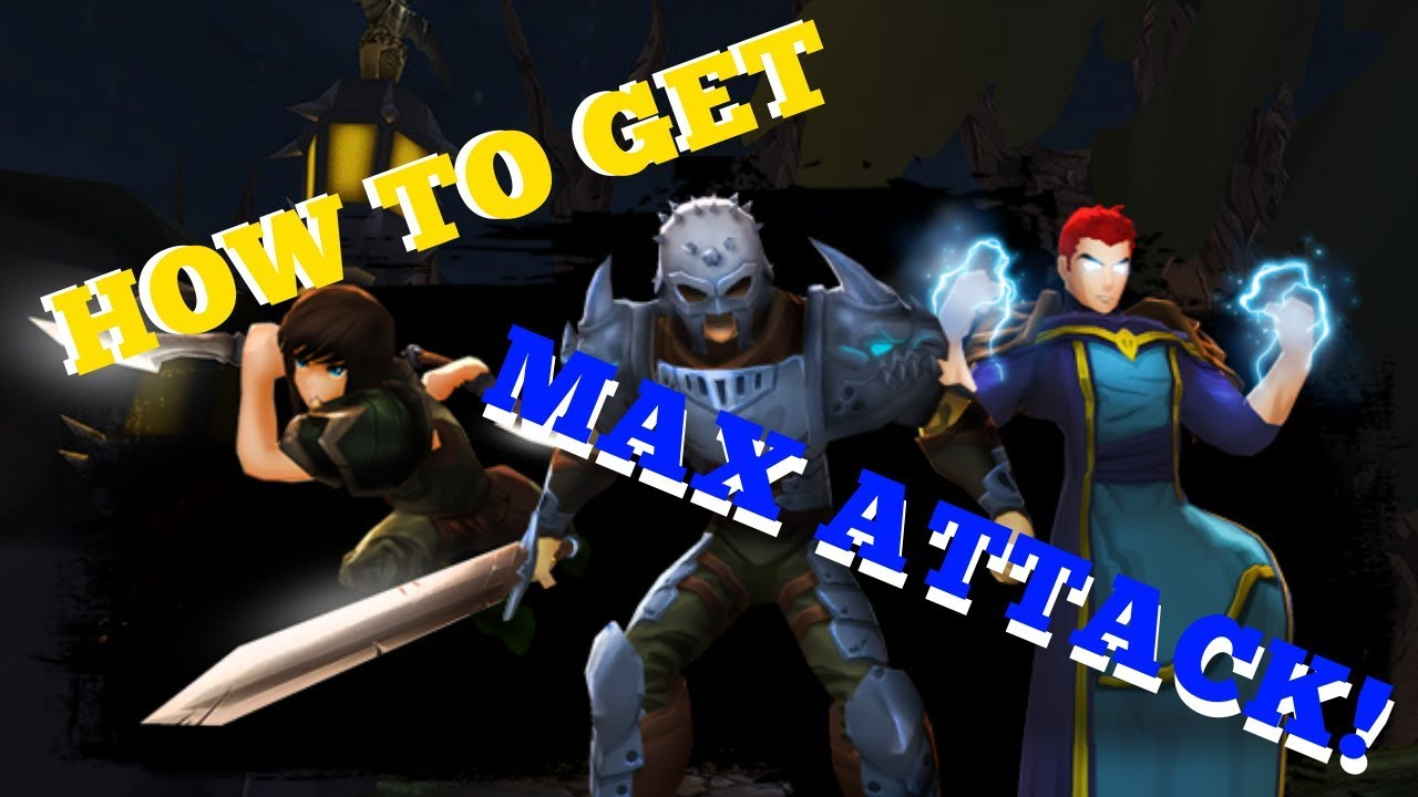 AQ3D How To Get Max ATTACK!(March, 2019)AdventureQuest 3D