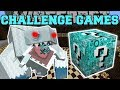 Minecraft FROSTMAW CHALLENGE GAMES Lucky Block Mod Modded Mini Game mp3