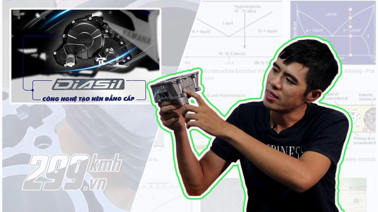 Công nghệ xy-lanh DiASil trên xe Yamaha