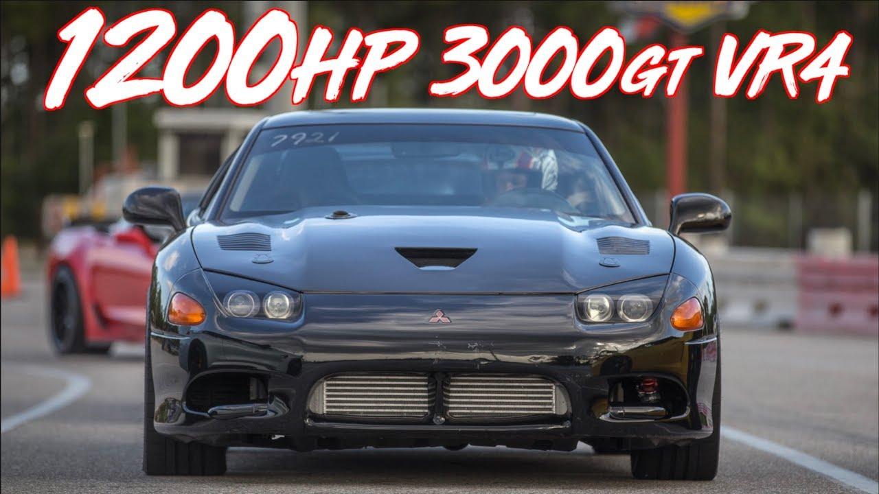 Baddest 3000gt Vr4 On The Planet 1200hp Self Built Monster