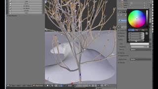 Add Curve: Sapling - create simple trees in Blender