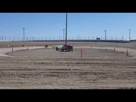 Aaliyah Galindo #80 practice  #outlawkarts # Rattlesnake raceway