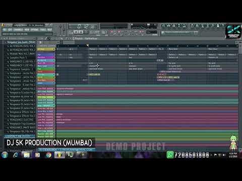 Lolipop Lagelu Elocto Remix -djsk (mumbai)  Fl Studio Project Dj Sk
